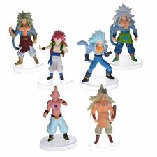 "Dragon Ball Z AF Super Saiyan 6x 5"" Figures Set: Goku Broly Vegeta Buu Kids More"