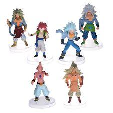 "Dragon Ball Z AF Super Saiyan 6x 5"" Figures Set: Goku Broly Vegeta Buu Kids More"