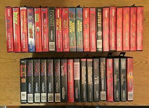 Sega Genesis Original Game Cases and Original Artwork - Case/Art Only