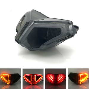 Integrated LED Rear Tail Light Brake Turn Signals For Ducati 848 1098 1198