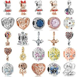 New Design European Christmas Silver Charms Pendant Beads Fit 925 Bracelets Gift