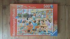 RAVENSBURGER 'THE TEACHER' HAPPY DAYS AT WORK NO.10 JIGSAW 500 PIECE