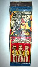 "RARE OLD Vintage ""The PEP BOYS-Auto Accessories,Tires."". matchbook.MADE IN USA"