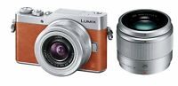Panasonic MirrorLess Digital Camera LUMIX GF9 Double Zoom Lens Kit Orange EMS