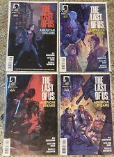 Set of 4: 2013 The Last of Us - American Dreams #1-4 by Dark Horse Comics Rare