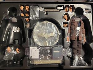1:6 Hot Toys Dark Knight Rises John Blake Jim Gordon Bat Signal Batman LOOK READ