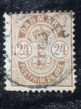 SCOTTS #49 DENMARK STAMP USED