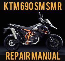 BEST 2008 KTM 690 SM SM-R SuperMoto R Service Repair Shop Manual USA Import CD