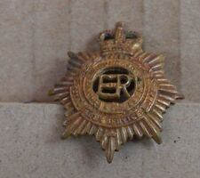 1953-65 Royal Army Service Corp Collar Badge queens Crown Genuine