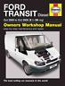 Haynes Workshop Manual Ford Transit 2000-2006 Van Diesel New Service Repair