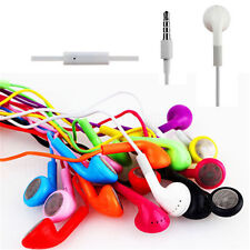 Kopfhörer FÜR  iPad 2 iPhone 3G 3GS 4G 4S 5 iPod Touch + Mic Headset Pink L38