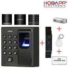 HE-F6 Fingerabdruck,Code und RFID Zutrittskontroller / Fingerprint Türöffner
