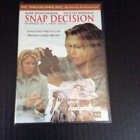 Snap Decision DVD 2001 Slim Case New True Story Mare Winningham Felicity Huffman