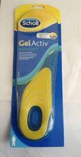 Scholl Men's Gel Active Everyday Shoe Insoles Comfort Size Uk 7-12