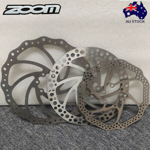 ZOOM MTB Bike Rotor 140/160/180/203mm Disc Brake Rotor 6 Bolts Stainless Rotor