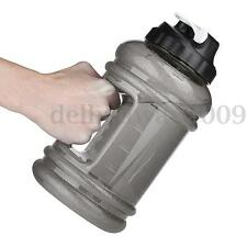 2.2L Big Mouth BPA Free Sport Gym Training Drink Water Bottle Cap Kettle Camping