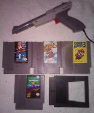 Super Mario Bros Duck Hunt 1 2 3 Trilogy Mario pinball Nintendo NES Zapper lot!