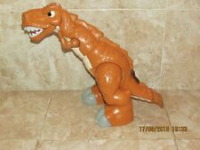 19''Tall Fisher Price Mattel T-Rex Dinosaur With Sounds And Moving Actions