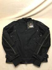 Harley Davidson 98099-16VM Mens Size S Black Solid 100% Nylon Long Sleeve Jacket