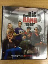 The Big Bang Season 1 & 2 Special Edition Official Cryptozoic Binder