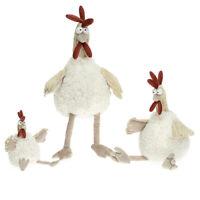 Kuschel Plüsch Stofftier Huhn Henne Plüschtier Kuscheltier Crazy Chicken Ostern
