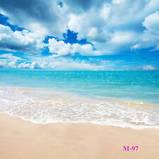 10X10FT Vinyl Studio Seaside Beach Photography Backdrop Photo Background M-97