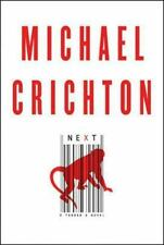 Next by author Michael Crichton 2006, Hardcover Best Seller book page turner
