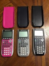 Texas Instruments Ti-84 Plus Graphing Calculators Lot of 3 - Tested & Working!