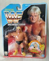 WWF - Wrestler Greg Hammer Valentine Series 3 Hasbro Carded WWF Figure 1992 WWE