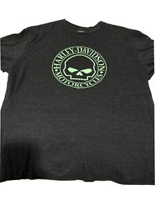 Harley Davidson T-shirt Black Bear Wyheville ,VA Hwy motorcycle shirt 2XL