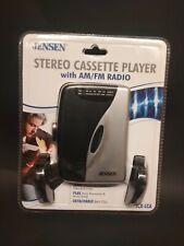 Jensen Scr-68A Stereo Cassette Player Am/Fm Radio (New)