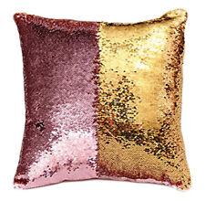 Mermaid Pillow Case Magic Reversible Sequins Cushion Cover 40 x 40cm