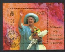 ALDERNEY 2000 QE la QM 100th anniversaire utilisé M/S