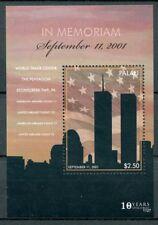 Palau 2011 MNH September 11th Memorial 1v S/S World Trade Center Pentagon Stamps