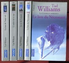 TAD WILLIAMS: LA CITADELLE ASSIEGEE 1 à 4. POCKET. 2005-2006.