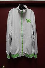 New Rocawear Classic R logo zipper up track jacket green white men's 6X Big&Tall