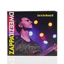 Dweezil Zappa Signed [ Live In the Moment II ] CD, 2017, Fantom Original