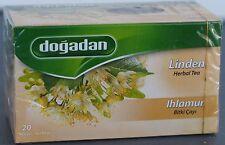 Dogadan, Linden, Herbal Tea - 20 Tea Bags