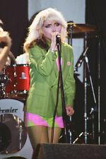 """Blondie - Debbie Harry 10""""*8"""" colour concert photo Newcastle 1978"""