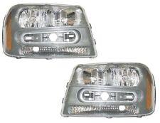 02 03 04 05 06 07 08 09 Trailblazer Left&Right Headlight Headlamp Light Pair L+R
