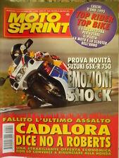Motosprint 46 1995 Test novità Suzuki GSX-R 750 - Test da corsa Aprilia RSV 250/