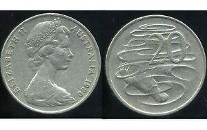 AUSTRALIE 20 cents 1980  ( bis )