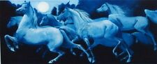 "G.H Rothe ""Arabian Night II"" Mezzotint Art Horse HAND SIGNED limited edition"