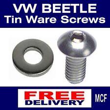 Volkswagen VW Beetle Engine Cooling Tinware Button Head Screws 25 Pack