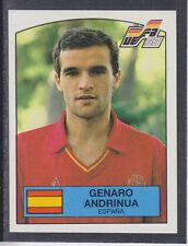 Panini - Euro 88 - # 138 Genaro Andrinua - Espana