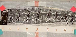 Kobe Bryant Vintage Adidas Elevation Poster RARE Crazy 1997 1998 Lakers Promo