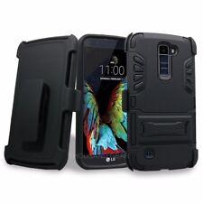 Jackpot LG K10 Heavy Duty Drop Proof Hybrid Holster Combo Case with Belt Clip