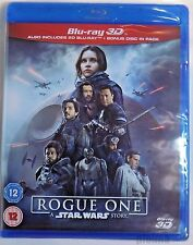 ROGUE ONE: A STAR WARS STORY Brand New 3D (and 2D) BLU-RAY Movie 2016 Film