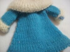 barbie clothes....hand knit mid lewngth over coat