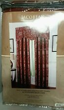 "Decor Cynthia Jacobean Room Darkening Window Panel (1) 52"" X 84"" L New"